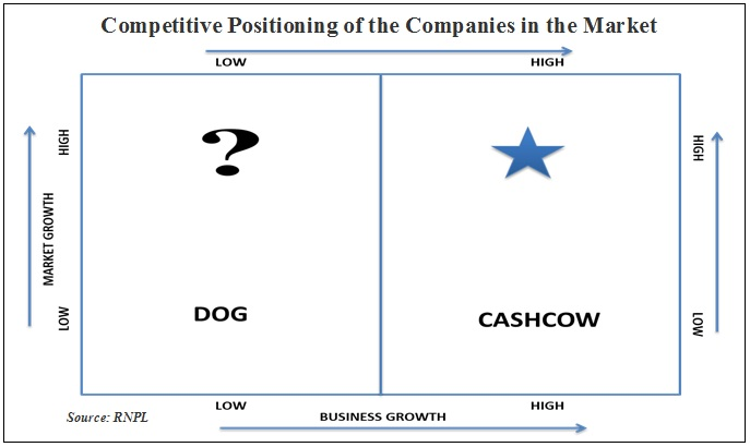 Competitive Positioning of the Companies in Market